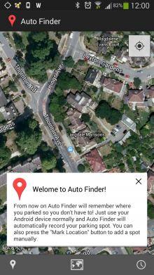 android best car locator