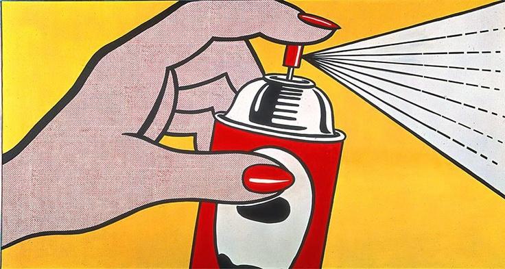 Hairspray On Oil Painting