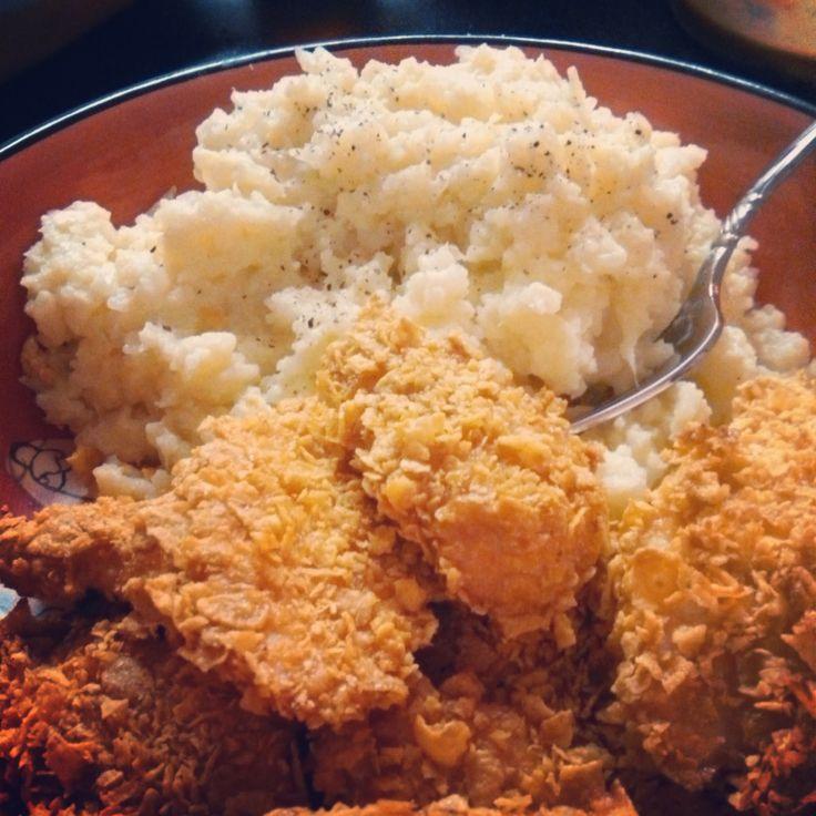 Skinny Garlic Mashed Potatoes Recipe — Dishmaps