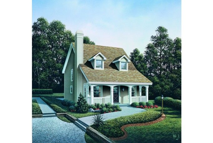 18 beautiful small cape cod house home building plans for Small cape cod house plans