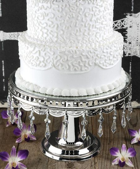 Silver Wedding Cake Stand Wish List Fun Products Pinterest