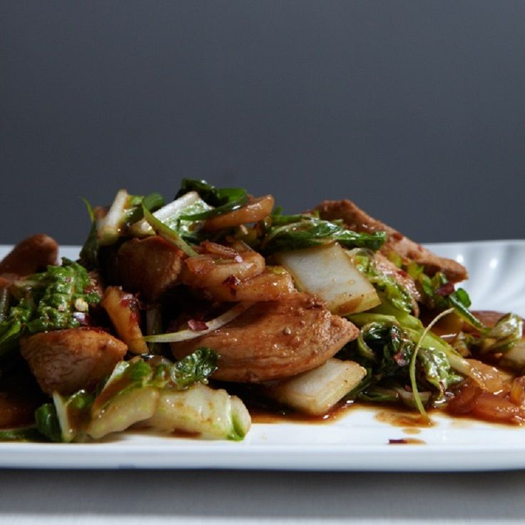 Stir Fried Chicken with Bok Choy | Recipes - Asian/Pacific Rim ...