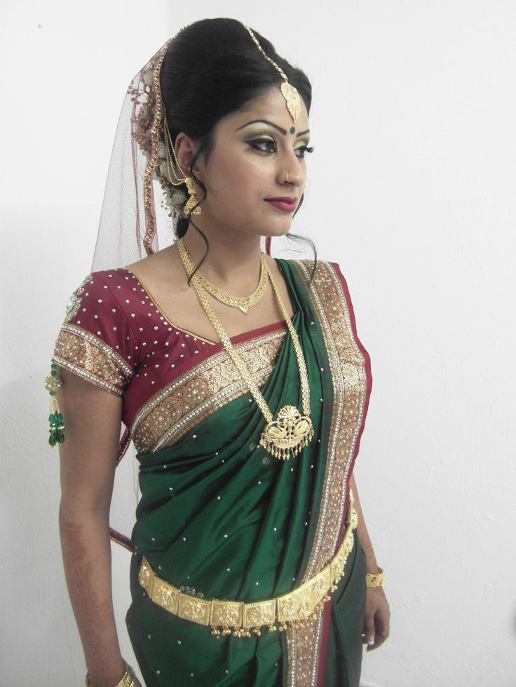 south Indian bride | Traditional wedding | Pinterest