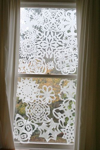 Wax Paper Snowflakes | Mighty Girl
