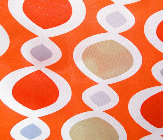 ... Sailcloth, fabric for curtains, pillows, and Upholstery, orange Fabric