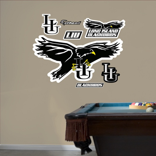 LIU Blackbirds Logo
