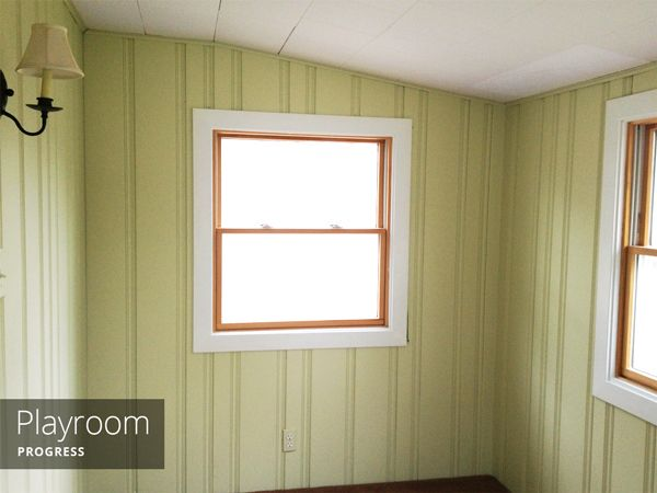 Painting Wood Paneling Rather Square Home Pinterest