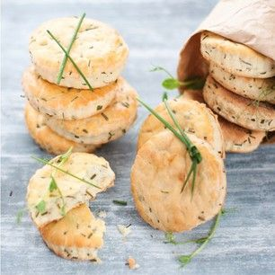 Goat cheese and chive Biscuits | keep my skillet good and greasy | Pi ...