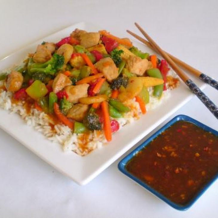 Spicy Peach Stir-Fry Sauce | Everybody's got a hungry heart. | Pinter ...