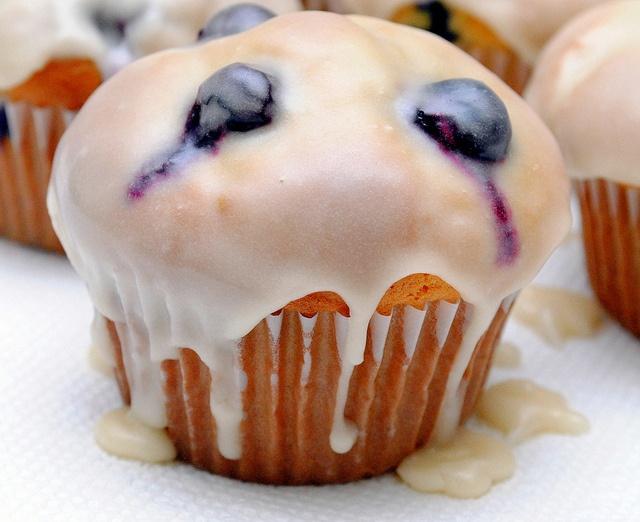 Blueberry Doughnut Muffins | sweets | Pinterest