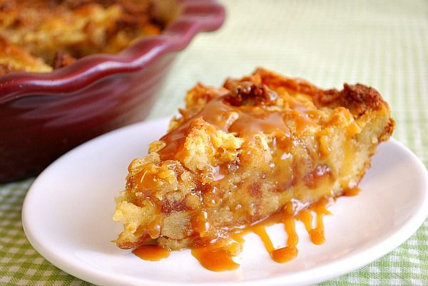 Caramel Apple Bread Pudding. | Yummy Cream/Pudding Desserts | Pintere ...