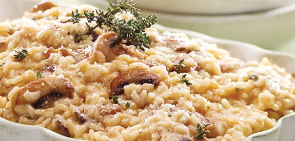 Slow Cooker Mushroom Risotto Recipe — Dishmaps