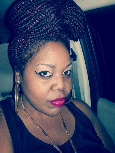 Crochet Box Braids In A Bun : Search Results for ?Bun Box Braids? - Black Hairstyle and ...