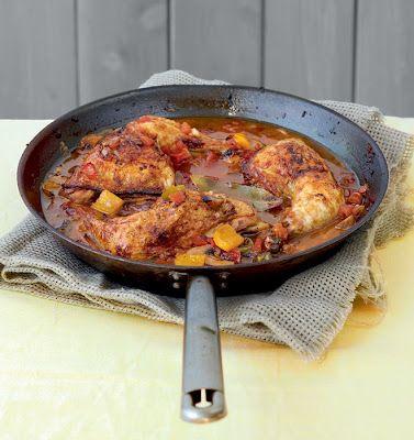 chicken in wine sauce | La CUCINA Italiana | Pinterest