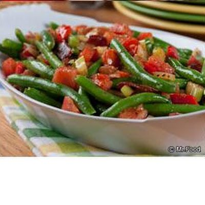 Smothered Green Beans | Julie's Recipes | Pinterest