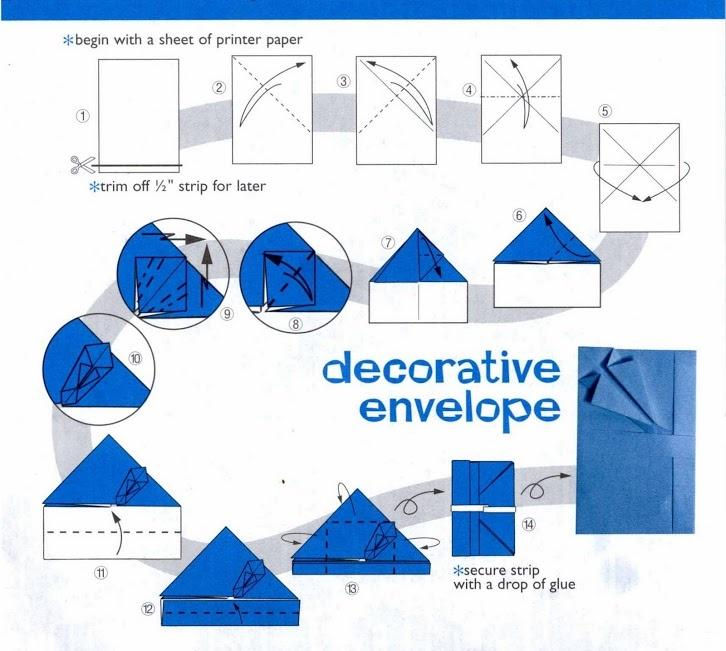 Envelope Origami Feelings Pinterest