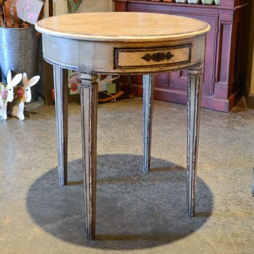 Round side table with drawer woodworking pinterest