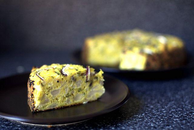 cauliflower and parmesan cake   smittenkitchen.com