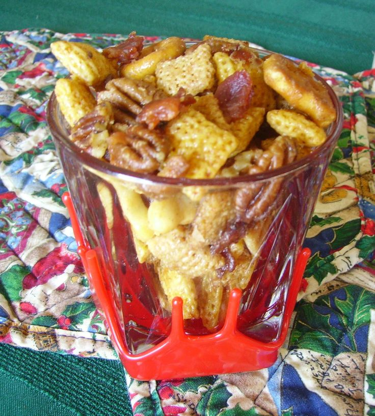 Kentucky Bacon Bourbon Chex Mix. The crunch of Chex Mix complimented ...