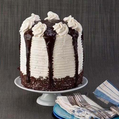 Really Tall Chocolate Layer Cake: Gluten Free