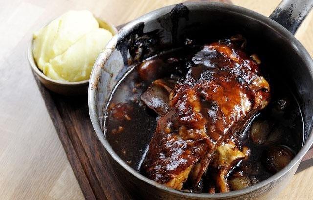 Slow-Braised Lamb With Sweet Potato Mash Recipes — Dishmaps