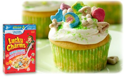 Lucky Charms Cupcakes Recipe | Family Dollar