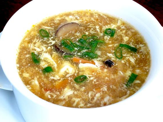 Vegetarian Hot and Sour Soup. Please click the image for recipe.