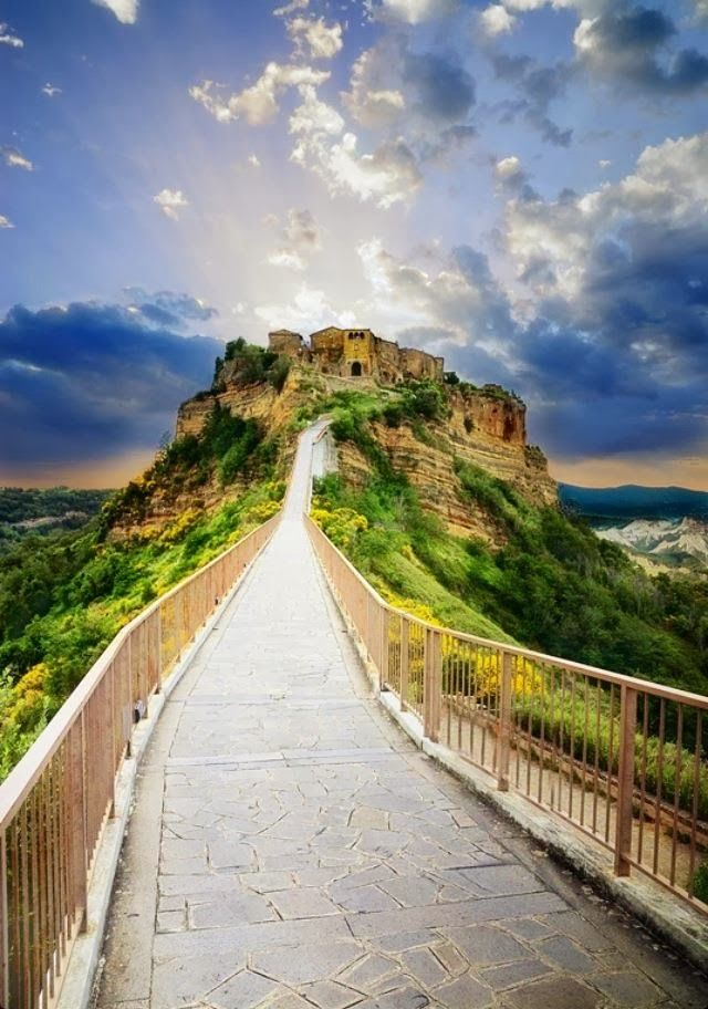 Civita di Bagnoregio, Italy:  Awesome Views  Pinterest