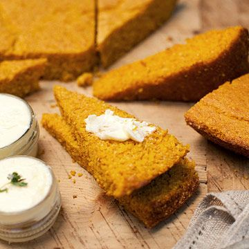 Pumpkin Corn Bread | Baked Goods | Pinterest
