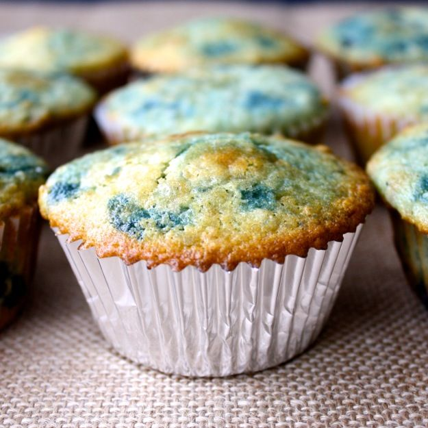 Easy muffins! Replaced the eggs with 1/4 cup of greek yogurt per egg ...