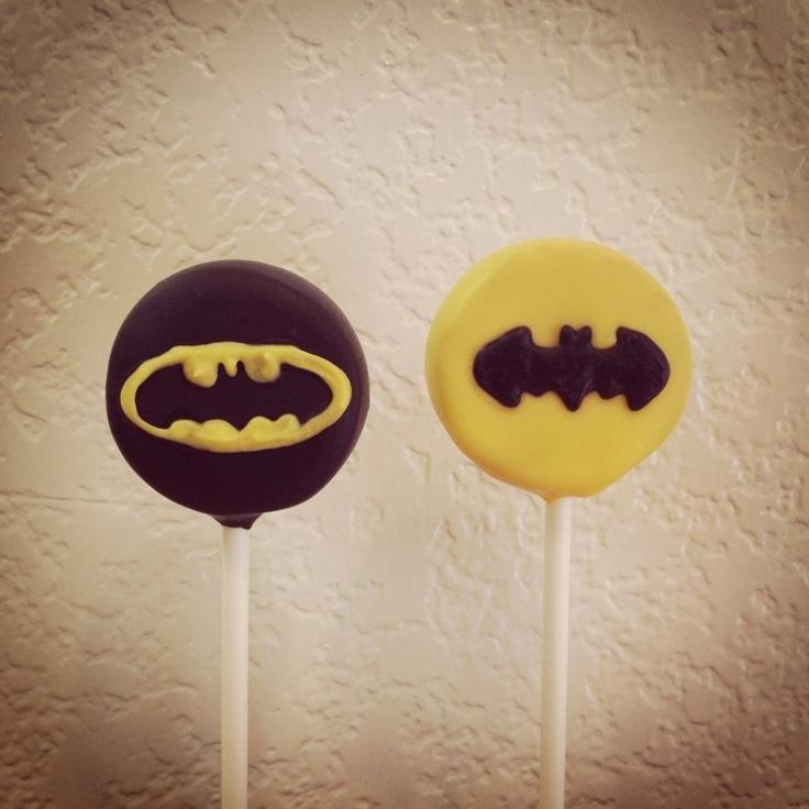 Batman Cake Pops Bakerella