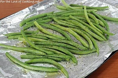Roasted Green Beans | Food for thought | Pinterest