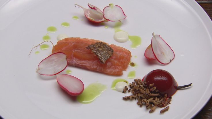 Citrus Cured Salmon with Beetroot Jelly | Seafood for lunch and dinne ...