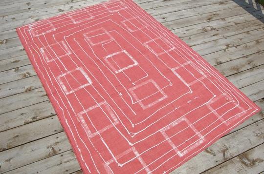 Easy DIY Outdoor Rug — How To