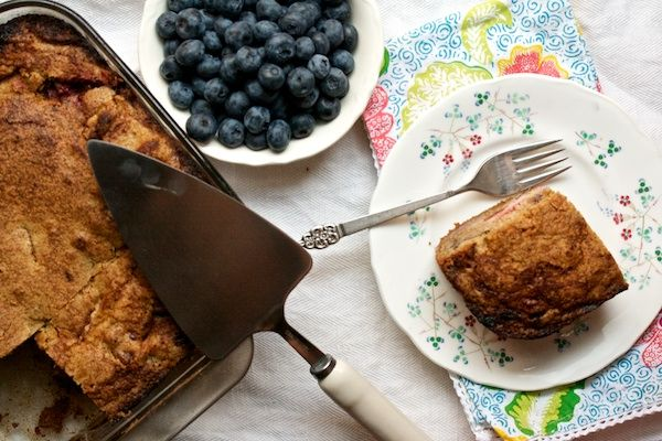 Grandma Esther's Plum and Walnut Cake | Yum: Sweets | Pinterest