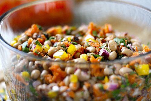 New Orleans Black Eyed Peas Salad | Food, food, food | Pinterest