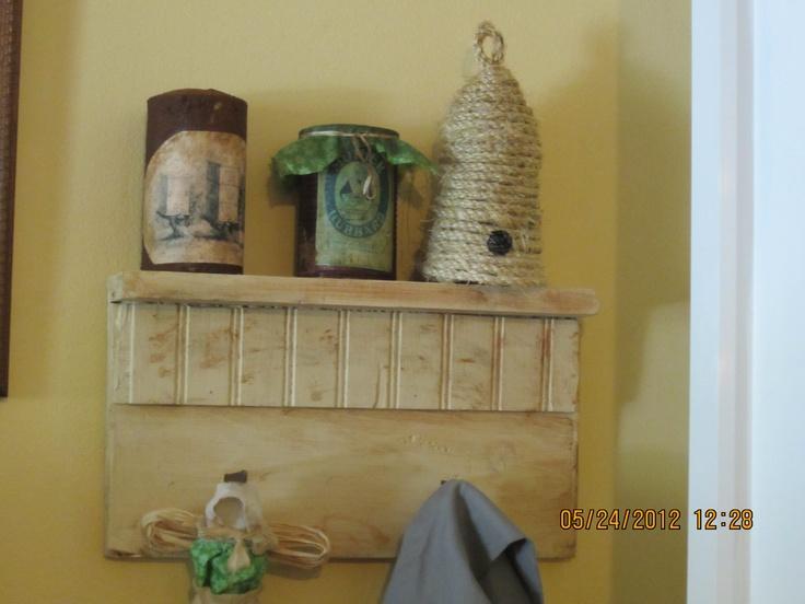 Primitive Shelves On Pinterest