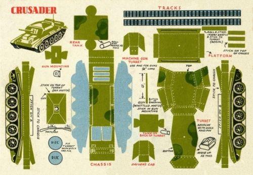 Как из бумаги а4 сделать танк