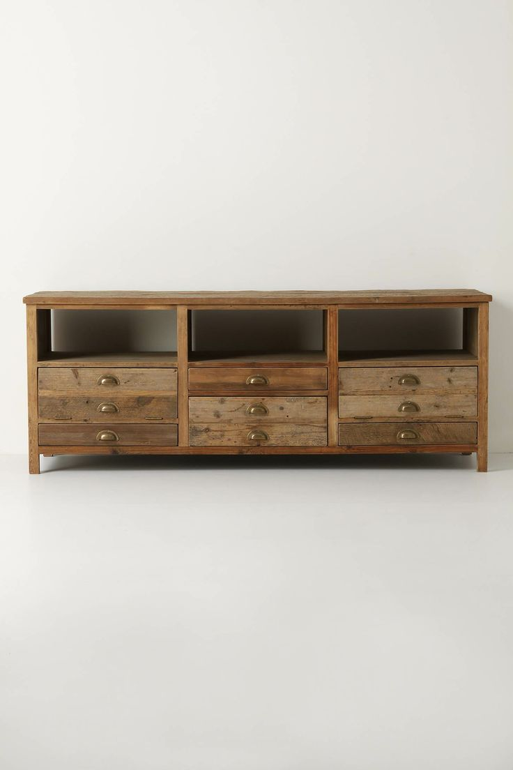 Anthro Industrial Console For The Home Pinterest
