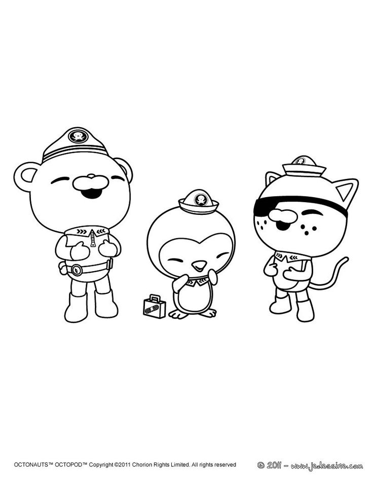 octonauts coloring pages bbc - photo#22