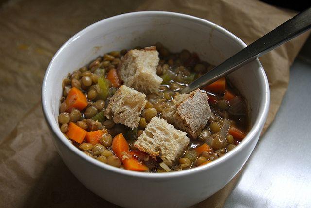 vegetable lentil soup   Recipes to try   Pinterest