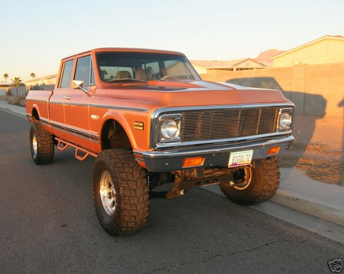 72 Chevy Crew Cab 4x4 | Autos Post