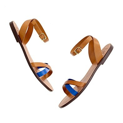 crisscross boardwalk sandal - Madewell