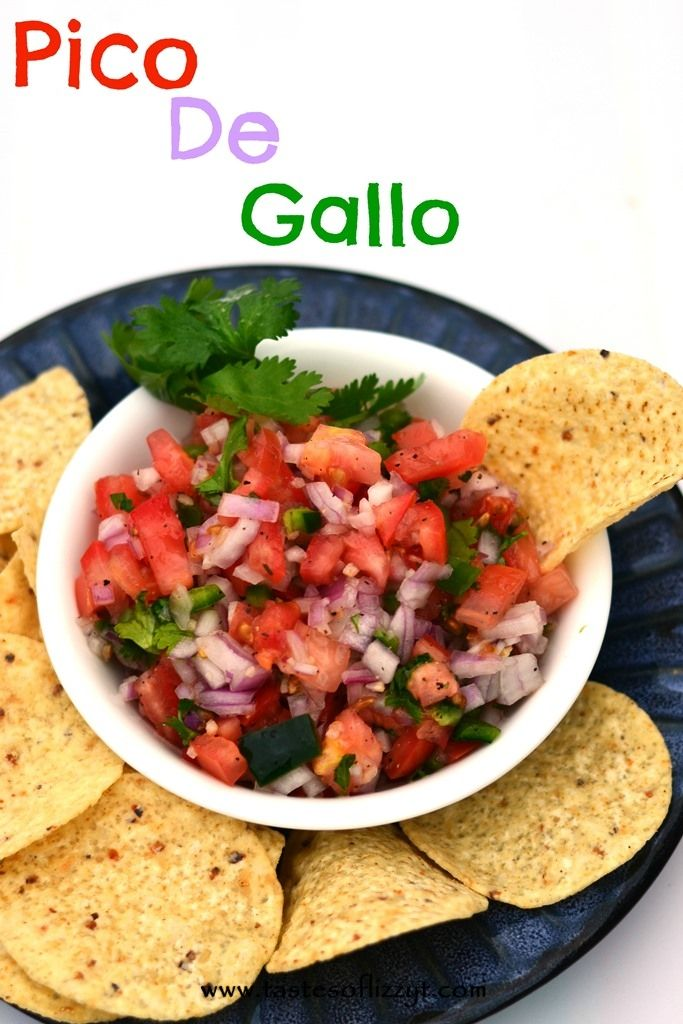 Pico De Gallo {Tastes of Lizzy T} Use all of those fresh garden ...
