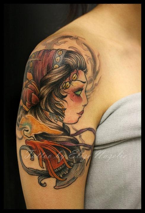 Gypsy elize via boston tattoo co inkwell pinterest for Boston tattoo company