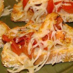 Double Tomato Bruschetta | Yummies and the Like | Pinterest