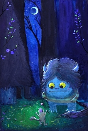 monster loving. where the wild things are