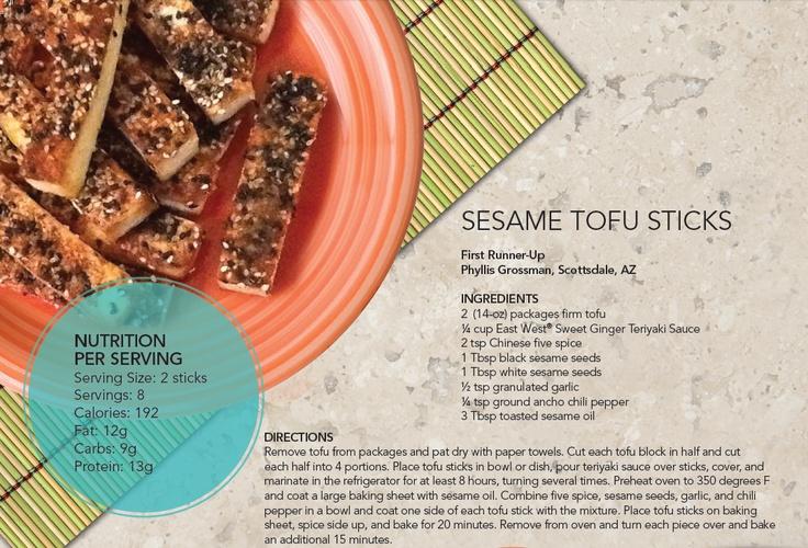 Sesame Tofu Sticks! #weightloss #vegan | Healthy & Delicious Recipes ...