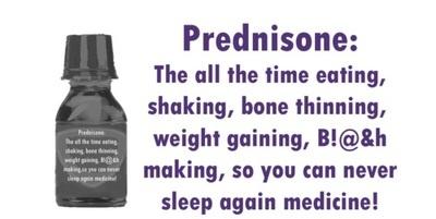if prednisone doesn work