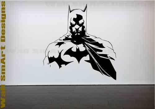 batman wall sticker bedroom childrens kids bedroom vinyl decal